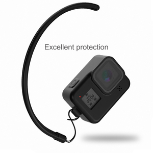 Image 3 - For GoPro 8 Accessory Soft Silicone Case Skin Protective Shell Housing Silicone Cover for Go Pro Hero 8 Black Action Camera