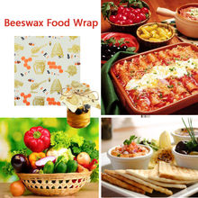Beeswax Food Wraps Assorted 3 Pack Eco Friendly Reusable Plastic Free Storage(China)