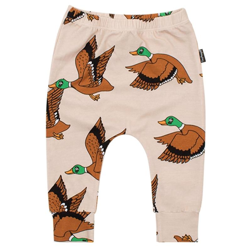 Ins/2019 г.; штаны с героями мультфильмов для малышей; демисезонные хлопковые леггинсы для малышей; брюки для новорожденных мальчиков; милый