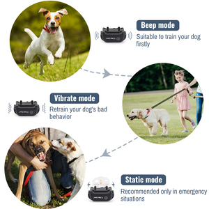 Image 3 - Petrainer 998DB 1 300M Rechargeable Waterproof Remote Control Dog Training Collar Dog Electric Shock Collar With LCD Display