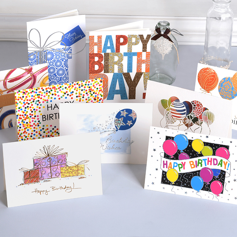 10sets Creative Business Card Birthday Wishes To Send Elders To Send Friends Small Cards in Cards Invitations from Home Garden
