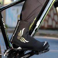 산악 자전거 신발 커버 방풍 방수 먼지 증거 따뜻한 유지 자전거 오버 슈즈 겨울 도로 자전거 신발 커버 수호자