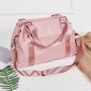 Image 4 - 2020 Women Travel Bag Fitness Gym Bag For Female Training Sports Yoga Sport Bag Carry On Luggage Duffle Tote Handbag XA793WB