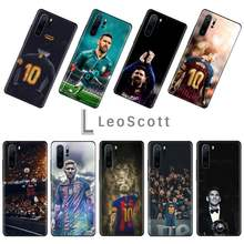 Football king Argentina MESSI Phone Case For Huawei P9 P10 P20 P30 Pro Lite smart Mate 10 Lite 20 Y5 Y6 Y7 2018 2019(China)