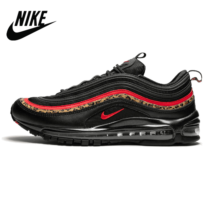 Original Authentic <font><b>Nike</b></font> <font><b>Air</b></font> <font><b>Max</b></font> 97 OG QS Silver Bullet <font><b>Men's</b></font> Sneakers Breatheable Running <font><b>Shoes</b></font> 885691-001 image