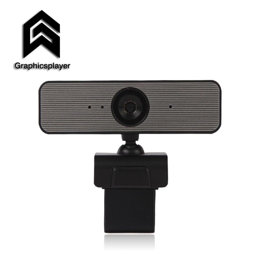 HDWeb con cámara incorporada micrófono HD USB Auto enfoque Webcam 1080P