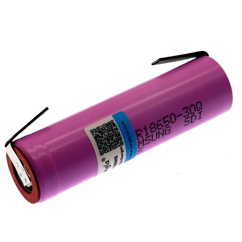 2019 Оригинал 30Q 18650 3000mah перезаряжаемый аккумулятор для электронных сигарет мощность высокой разрядки, 30A большой ток + DIY nicke|Перезаряжаемые батареи|   | АлиЭкспресс