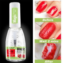 цена на 15ml Magic Nail Polish Remover Burst UV LED Gel Soak Off Remover Varnish for 2-3min Fast Cleaner Nail Uv Gel Degreaser