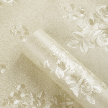 Classic Peony Rose Flower Floral Wall Paper Rolls PVC Self Adhesive Wallpaper Living Room Bedroom Home Decor Wall Coverings girls bedroom embossed wallpaper pink background wall 3d wallpaper pvc roll classic flower wall paper peony floral wall covering