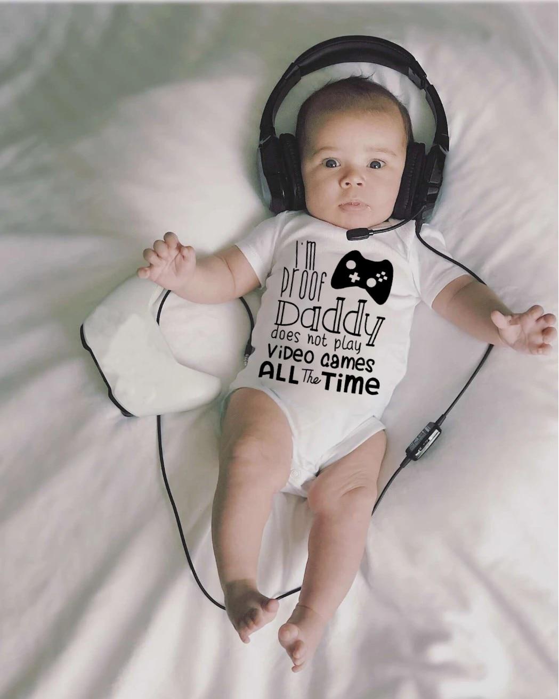Animal Bape Infant Baby Romper Summer Short Sleeve Onesie Novelty Funny Gift