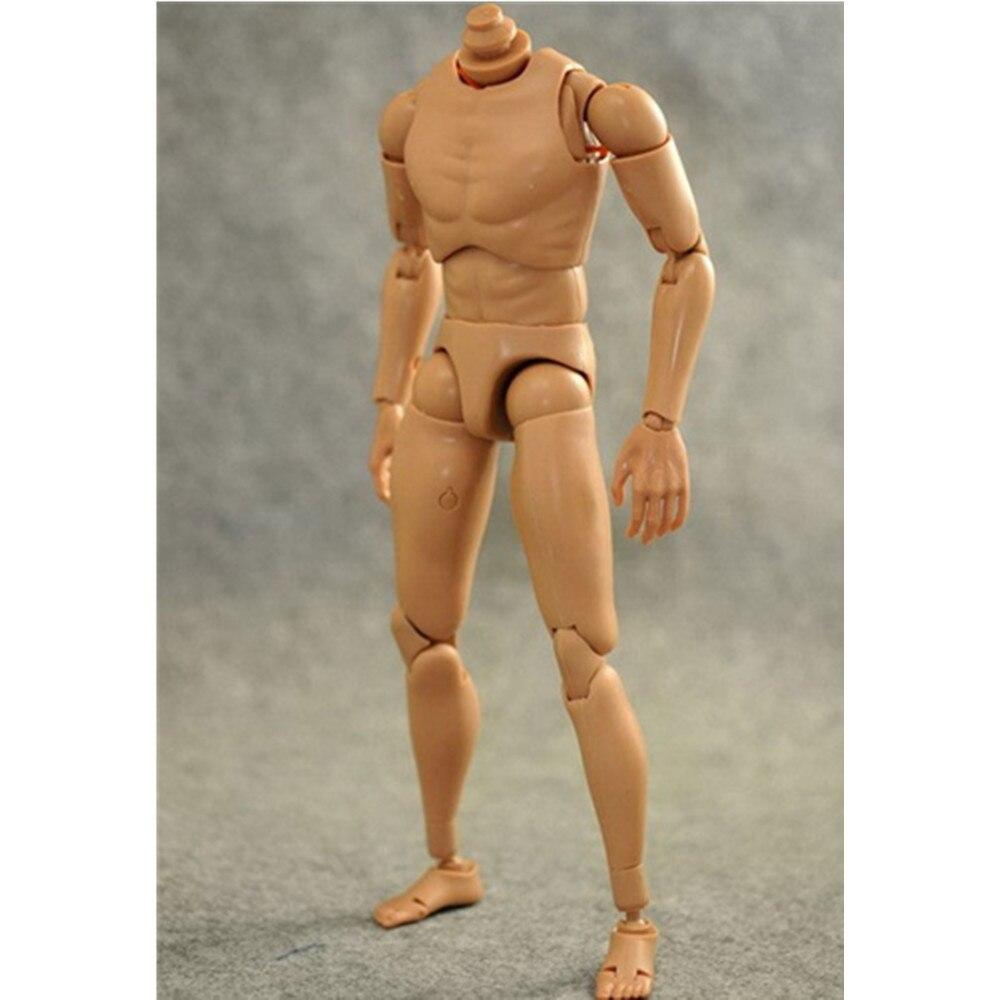 1//6 TH Figura Maschile Spalla Stretta NUDO Muscle B005 Corpo Bambola Modello Raccogliere