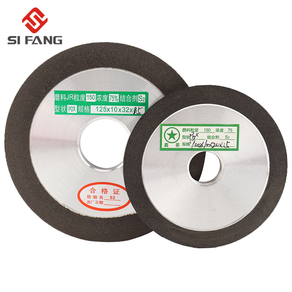 100/125mm PDX Diamond Grinding Wheel Disc Carbide Cutter Metal Grinder  Hole Metal Polishing Cutting Grinding Hard Alloys