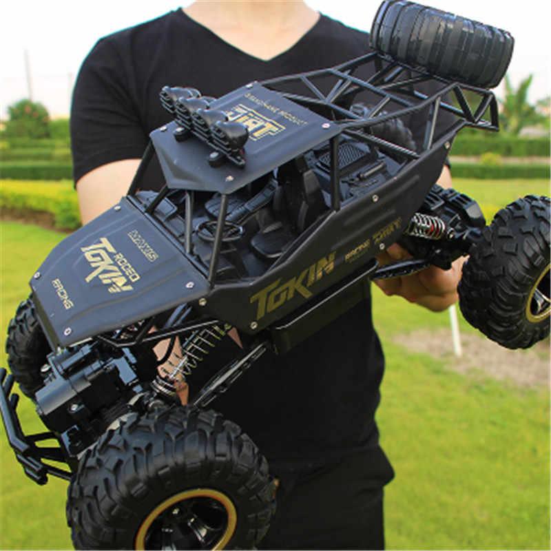 1:12 4WD RC araba güncelleme sürümü 2.4G radyo kontrol RC oyuncak arabalar Buggy 2020 yüksek hızlı Off-Road kamyon oyuncak çocuklar için
