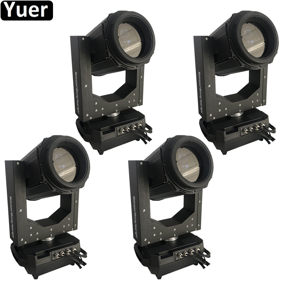 4Pcs/Lot 230W 7R Waterproof Beam Moving Head Light DMX512 Sound Color Music DJ Disco Party Light Outdoor Stage Moving Head Light