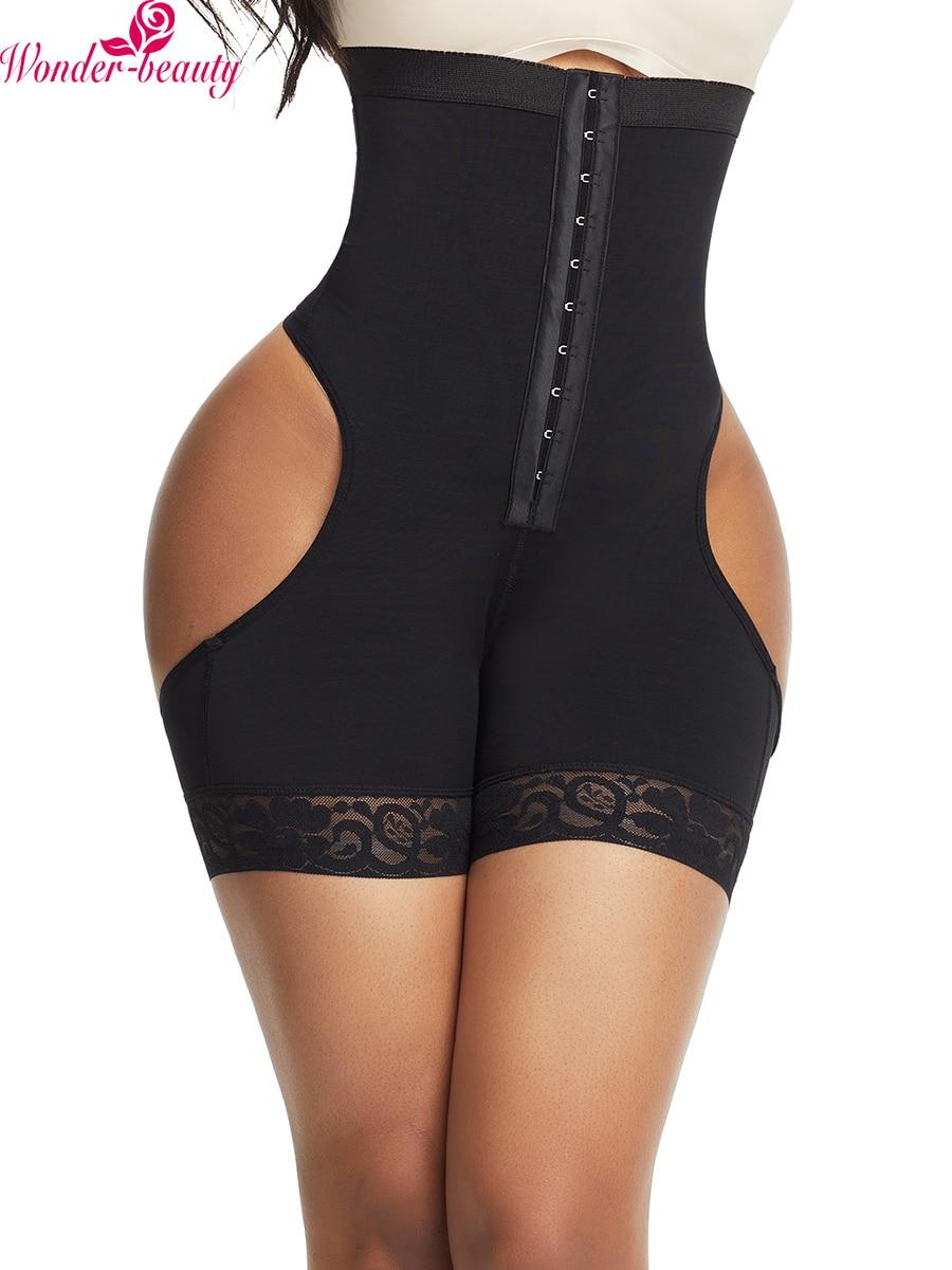 WonderBeauty Butt Lift Body Shaper Shorts With Tummy Control Female Booty Lift Pulling Underwear Shaper Sexy Shapewear Underwear 1