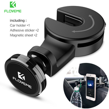 FLOVEME Magnetic Car Phone Holder Hook Back Seat Universal phone holder For iPhone iPad Magnet Stand Soporte Mount