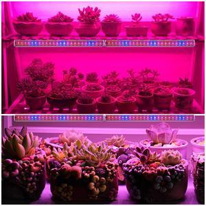 """Image 5 - LED לגדול אור ספקטרום מלא מקורה צמח מנורת AC110V 220V T5 צינור הנורה בר אור 2835 שבב האיחוד האירופי/בריטניה/ארה""""ב עבור צמחים"""
