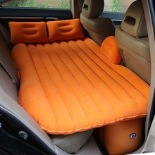 Universal Car Bed Travel Mattress In The Car Back Seat Inflatable Pillow Sleep Tourist Seat Inflatable Air Mattress Car Sofa Bed large double people big size inflatable mattress bed flocking bed mattress blue folding relax sofa chair