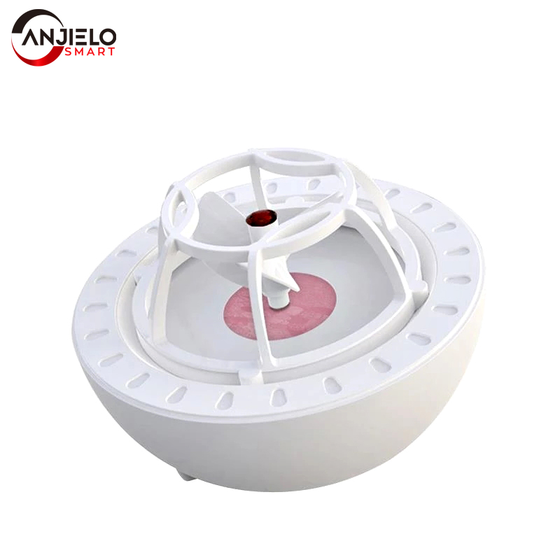 Anjielosmart новая миниатюрная ультразвуковая мойка, домашняя маленькая USB перезаряжаемая Портативная стиральная машина для фруктов и овощей