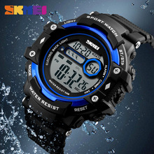 SKMEI Fashion Simple Men Watch Digital Chronograph Outdoor Sport Alarm Clock Watches 5Bar Waterproof 1325