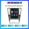 COHO для VW Passat B7 2009-2011 Android 10 8 Core 6 + 128G Gps WiFi 4G Радио Android автомобильный мультимедийный плеер