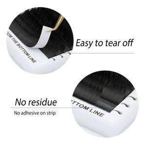 Image 3 - 6 quality eyelash extensions tray fake mink single eyelash size single eyelash soft natural eyelash