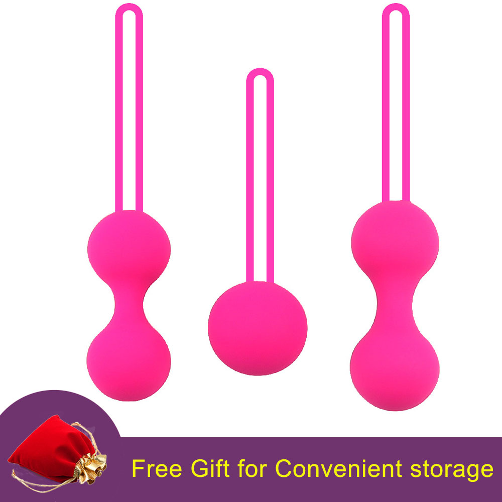 Safe Silicone vaginal tightening Chinese Smart Kegel Balls For Women Vagina Exercise Tightening Ball For Pussy Geisha Balls