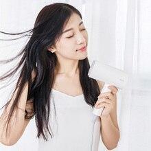 Pour Xiaomi SMATE Anion sèche cheveux Mini Portable 1800W séchage rapide sèche cheveux outils de coiffure pour voyage maison hôtel