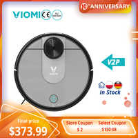 [RU Stock]Xiaomi VIOMI V2 Pro Robot Vacuum Cleaner Smart Cleaning High Suction LDS Laser Navigation Electric Control