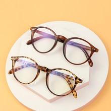 1pc moda anti raios azuis óculos retro moldura redonda óculos de proteção óculos de filtro de jogos