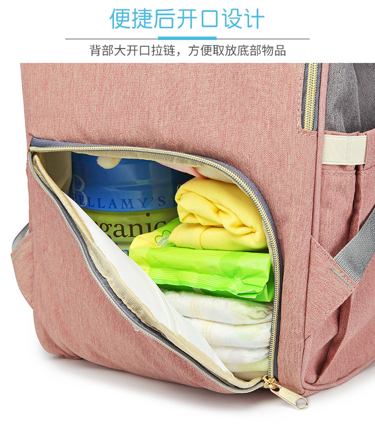 Сумка для подгузников большой емкости сумка для подгузников Модернизированный Водонепроницаемый модный рюкзак многофункциональная сумка для подгузников Сумка для беременных женщин