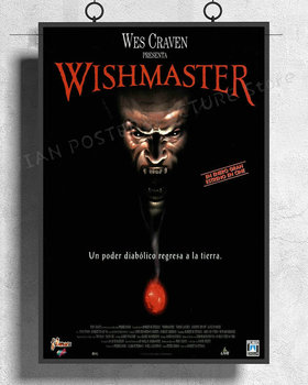 NJ491 WISHMASTER Movie 1997 Wes Craven Wall Sticker Silk Poster Art Home Decoration image