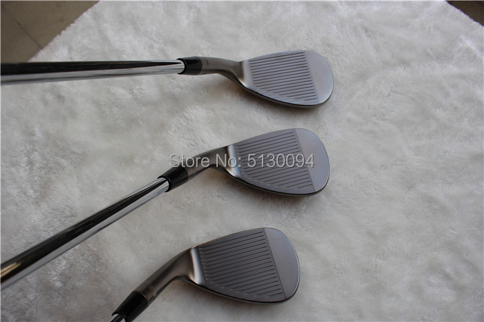 Quality SM6 Wedges Vokey Design Golf Clubs Sand Lob Wedge50/52/54/56/58/60 Degrees Steel Shaft S200 With Head Cover Putter Irons
