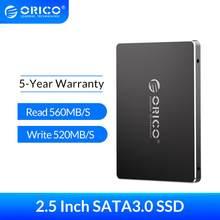 ORICO SSD 128 go 256 go 512 go 1 to SSD 2.5 pouces SATA SSD 1 to disque SSD interne pour ordinateur portable de bureau