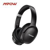 Cuffie senza fili Mpow H10 cuffie Bluetooth con cancellazione attiva del rumore con microfono cuffie ANC Playtime 30H per ufficio viaggi TV
