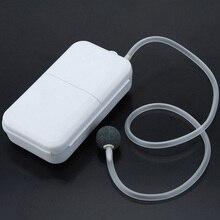 Newest Portable Air Pump Fishing Aerator Oxygenated Live Bait Aquarium Battery Powered