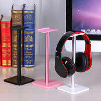 Soporte Universal para auriculares soporte de aluminio ampliamente Compatible escritorio para montaje en pared soporte para auriculares Accesorios