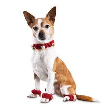 Забавный Колокольчик для собаки рождественские украшения праздника