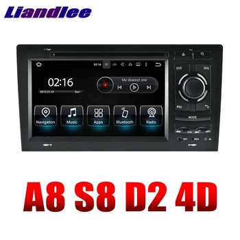Liandlee Car Multimedia Player NAVI For Audi A8 S8 D2 4D 1994~2003 Car Touch Screen System Radio TV DVD Stereo GPS Navigation