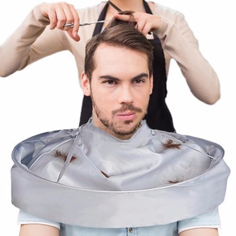 Adult Medium Size Hair Cutting Cloak Breathable Umbrella Styling Cape Salon Barber Home Stylists Three Dimensional Cape