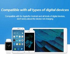 Image 3 - Carregador de celular com 4 portas usb tipo c, adaptador de tomada usb para android, iphone, xiaomi, huawei samsung s10