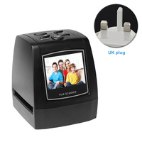 JPEG Professional LCD Display Easy Operate Quick Lantern Slide Mini High Resolution Card Support Portable Film Scanner