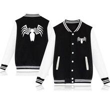 Spring Autumn Clothes Toddler Baby Baseball Jacket Spider-man Print Kids Girls Boys Jackets Coats Outwear Children Sport Sweater