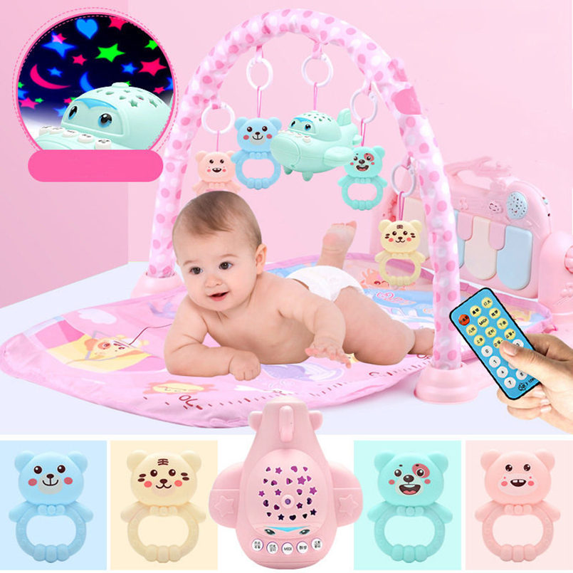 Baby Play Mat Kids Rug Educational Toys Puzzle Carpet With Piano Keyboard And Cute Animal Playmat Baby Gym Crawling Mat Toys
