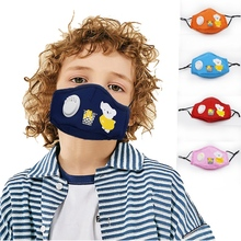цена на Child baby Washable Cotton Anti Dust Protective Double Kpop Mask Anti-Dust Mouth Mask Health Cycling Cool Respirator Face Mask