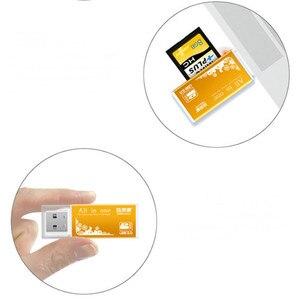 Image 5 - 4 in 1 Aluminium Shell Metalen Kaartlezer USB2.0 Alle in een High speed Universele SD TF Kaartlezer MMC Kaartlezers