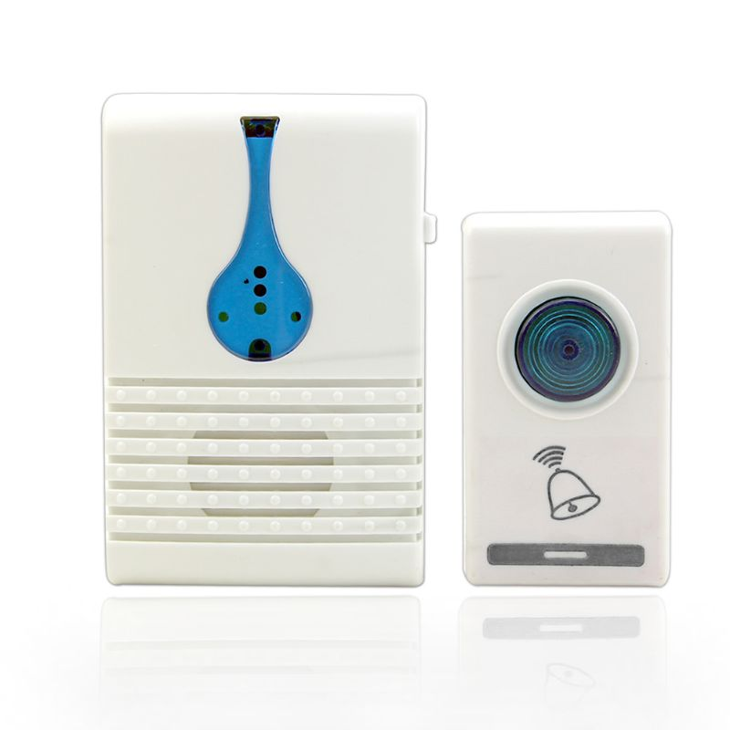 Wireless Door Chime <font><b>Doorbell</b></font> Bell <font><b>Remote</b></font> Control 32 Tune Songs 100M Range Home image