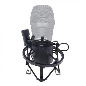 Image 2 - Metall Aufnahme Studio Clip Spinne Mikrofon Stehen Shock Mount mit Kupfer Transfer für Computer Kondensator Mikrofon