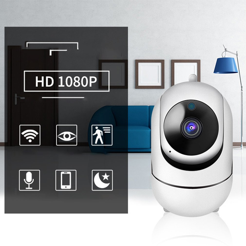 Home Security IP Camera Intelligent High-Definition Wireless Camera Home Indoor Wifi Remote Surveillance Camera Home Monitor 4