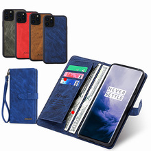 Flip Case For iPhone XS Max Wallet 2 in 1 Detachable Genuine Leather Magnetic Cover for 11 Pro 2019 7 8